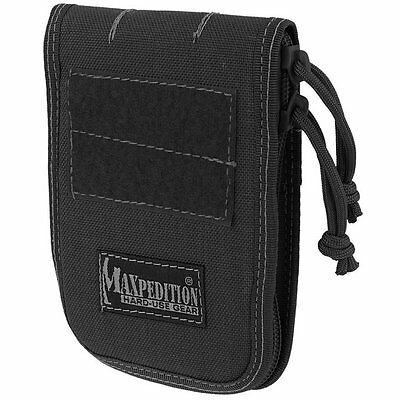 "Maxpedition .  3"" x 5"" Notebook  . BLACK  . 3302"