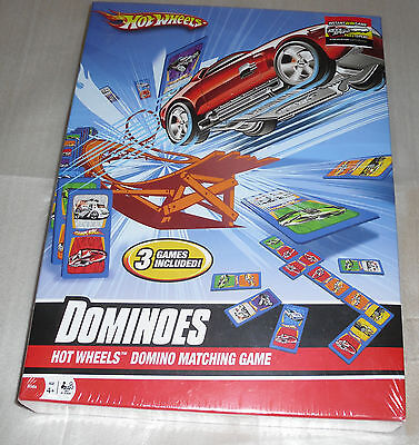 Hot Wheels Domino Matching Game *NIP* Ages 4+ (2+ Players)