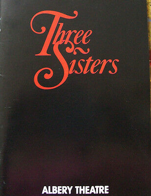 London Playbill 1987 Three Sisters at Albery Theatre by Chekhov