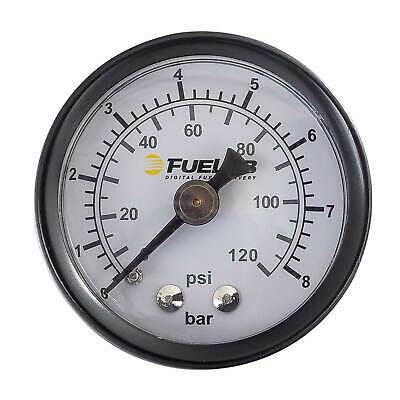 "Fuelab 1.5"" Fuel Pressure Gauge - Dual BAR/PSI Scale 0-120psi - 715xx Series"