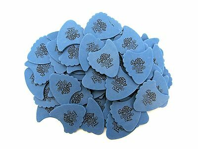 Dunlop Guitar Picks  72 Pack  Tortex Fins  1.00mm  Blue
