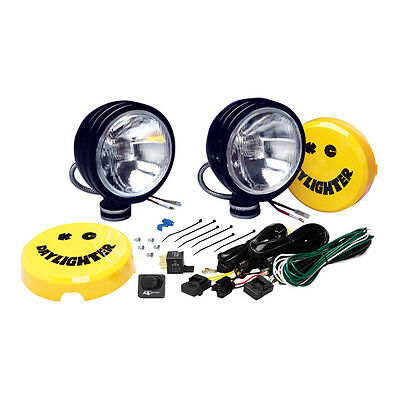 """KC Hilites 130W 6"""" Rally/4x4 Daylighters Spot Light Drive Lamps In Black"""
