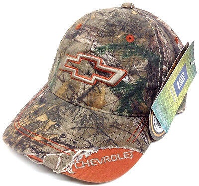 CHEVY MOSSY OAK CAMO SNAPBACK HAT CAP WEDGE CHEVROLET CAMOUFLAGE RACING NASCAR