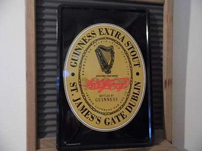 Vintage Retro Style Metal Wall Sign Advertising Plaque *guinness Extra Stout*