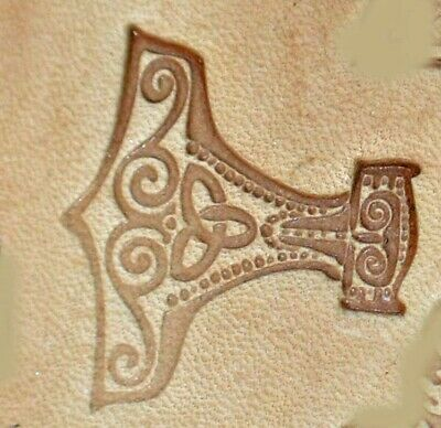 8676 Craftool 3-D Stamp Mjolnir Tandy Leather 8676-00