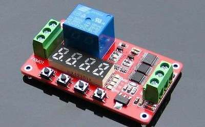 dc 12V Relay Cycle Timer CLOCK  Module Digital led *  PLC Home Automation Delay