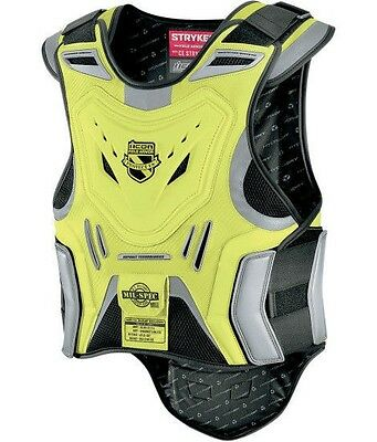 Icon Stryker mil-spec yellow motorcycle armor vest