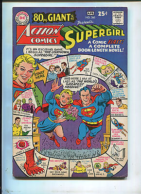 Action Comics #360 (7.0) Supergirl 80 Pg Giant