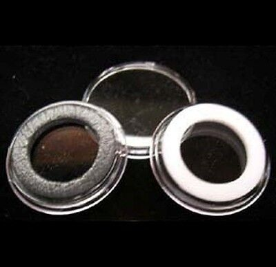 5 AIRTITE COIN HOLDER CAPSULE BLACK RING 20 MM