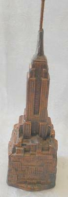 Vintage Empire State building Statue Of Liberty Bank Souvenir