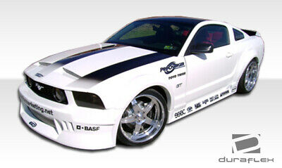 05-14 Duraflex For Ford Mustang Hot Wheels Wide Body Side Skirts < Body Kit R