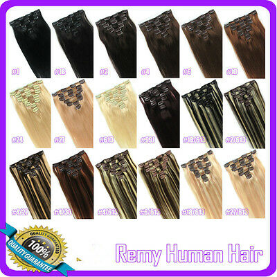 70g 90g Clip in Real Human Hair Extension Remy Accessiories,Black,Brown,Blonde