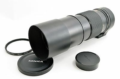 [Exc]Konica AR Hexanon 300mm F4.5 Telephoto Manual Lens freeship from Japan