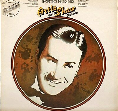 ARTIE SHAW the beat of the big bands EMB 31017 uk embassy LP PS VG/EX