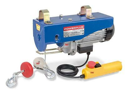 Professional electric wire rope winch pull cable hoist 300/600KG