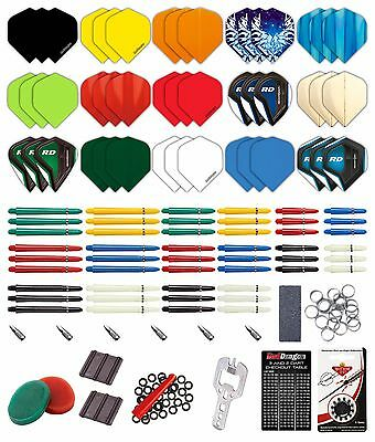 Red Dragon Darts 200 Piece Bumper Darts Accessory Pack - Amazing Value
