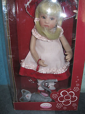 "Gotz NELLA  11""  Doll  - Limited Edition of 5000 by artist Beatrice Perini"