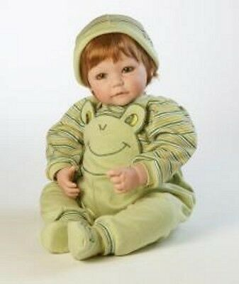 "Adora Froggy Fun Toddler 20"" Vinyl Baby Boy Red Hair Green Eyes Doll # 2020293"