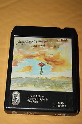 """Dollar ($1.00)   GLADYS KNIGHT & THE PIPS   """"I FEEL A SONG""""    8 TRACK TAPE"""
