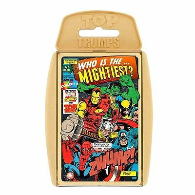 Top Trumps Marvel Comic Retro