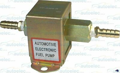 New 7 Psi Lightweight Electric Fuel Pump 12V Volt Universal Diesel Petrol Fp006