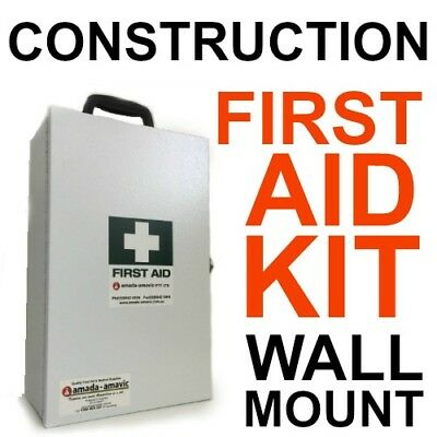 First Aid Kit Metal WallMount CONSTRUCTION WORK CODE OF PRACTICE  BUILDER