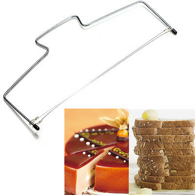 Cake Bread Wire Slicer Cutter Leveller Leveler Decorating Cutting Decorator Tool
