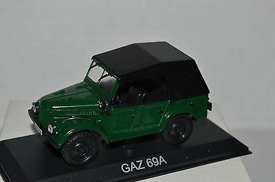 Legendary Cars Auto Die Cast Scala  1:43 - GAZ 69A  [MV22]
