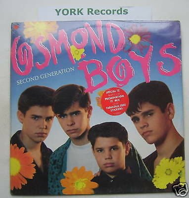 "OSMOND BOYS - Second Generation - MINT 12"" Single"