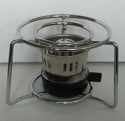 Moka Coffee Alcohol Burner With Shell For Capacity Above 3 Cup  Pot Coffee Stove