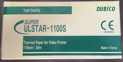 5 x ROLL of ULTRASOUND PAPER DURICO 1100S [5 ROLLS] Fast Shipping!!