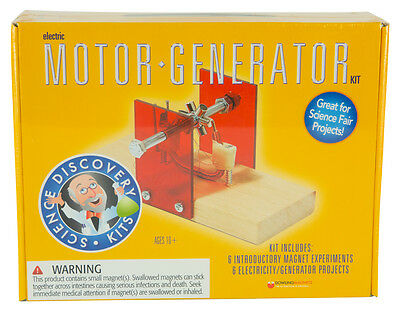 Dowling Magnets Electronic Science Discovery Kits Electric Motor Generator