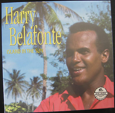 HARRY BELAFONTE - ISLAND IN THE SUN - 5-CD AND BOOK BOX SET - NEW