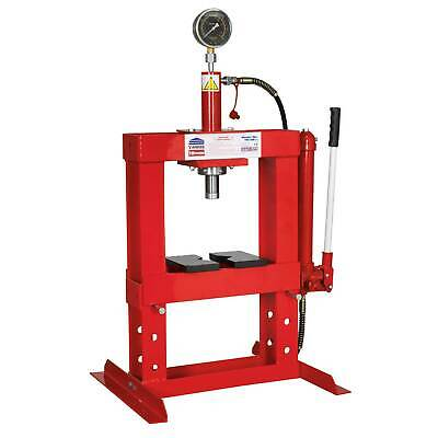 Sealey Hydraulic Steel Work Press/Pressing - 10tonne - Bench Type - YK10B