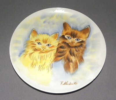 Vintage Decorative Hanging Cat Plate Norleans Japan