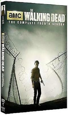 All New The Walking Dead: The Complete Fourth Season 4 (DVD 2014, 5-Disc Set)
