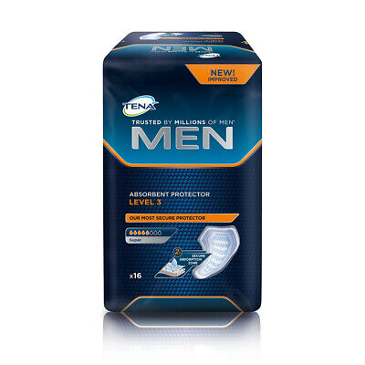 TENA Men Absorbent Protector - Level 3 - Pack of 16