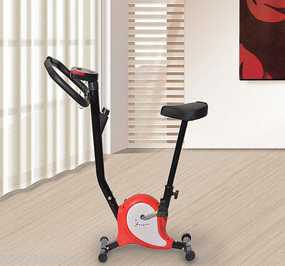 Indoor Belt Drive Exercise Bike Upright Stationary Sport Fitness Cycling New