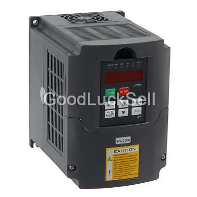 2.2KW 3HP VFD 10A 220V VARIABLE FREQUENCY DRIVE INVERTER VFD Speed Control US