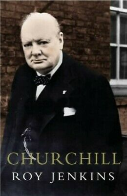 Churchill: A Biography by Jenkins, Roy Hardback Book The Cheap Fast Free Post