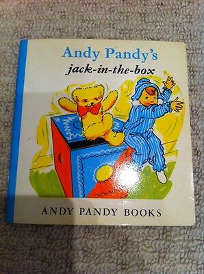 Vintage Book Children Girl Boy Andy Pandy's Jack In The Box Vgc Excellent Cond