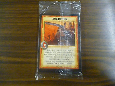 Warlord Saga of the Storm Promo Overlord Je'lial Deck Sealed