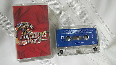 Chicago: The Heart of Chicago 1967-1997 Casette. Pre-owned.