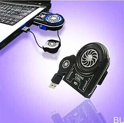 BUAU Mini Vacuum USB Cooler Air Extracting Cooling Fan for Notebook Laptop