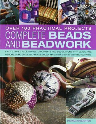 Comp Beads Beadwork by Ganderton, Lucinda Book The Cheap Fast Free Post