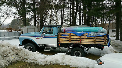 Ford : F-250 superduty 4x4  ford250 1966