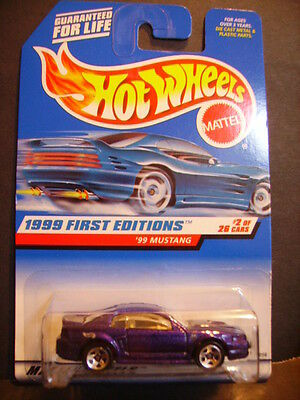 1999 Hot Wheels First Edition '99 MUSTANG ~ Variation ~