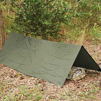 Snugpak Stasha. Green Basha Shelter Camping Military Survival. 1.6x2.4M