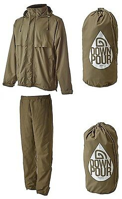 New Trakker Downpour + Plus Fishing Clothing - Waterproof Jacket or Trousers