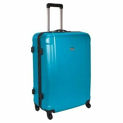 Traveler''s Choice Freedom 29 Hardshell Spinner Upright - Arctic Blue